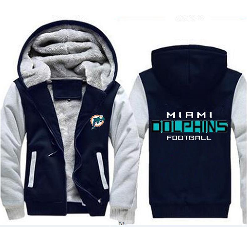 buy popular 3bf6e 4ab71 Miami Dolphins NFL Men's Women's Coats Warm and 50 similar items