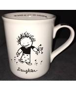 Papel White Black Children Of The Inner Light Daughter Lg Coffee Cup Mug... - $9.89