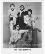 THE FOUR SEASONS SIGNED AUTOGRAPH 8x10 RPT PHOTO GREAT BAND - $16.82