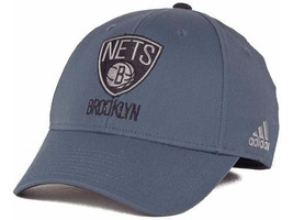 NWT New Brooklyn Nets adidas Gray Swat NBA Size Small-Medium Official Hat Cap - $13.81