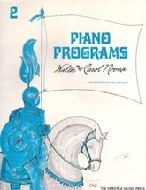 Mainstreams Piano Programs Book 2 Walter Noona - $3.50