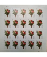 Celebration Boutonniere (USPS) STAMP SHEET 20 FOREVER STAMPS - $15.95