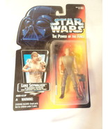 Star Wars POTF Luke Skywalker in Dagobah Fatigues Action figure MOC 1995 - $19.99