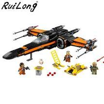 Star Wars Order Poe's X Toys wing Fighter Building Block Bricks 79209 75... - $30.95+