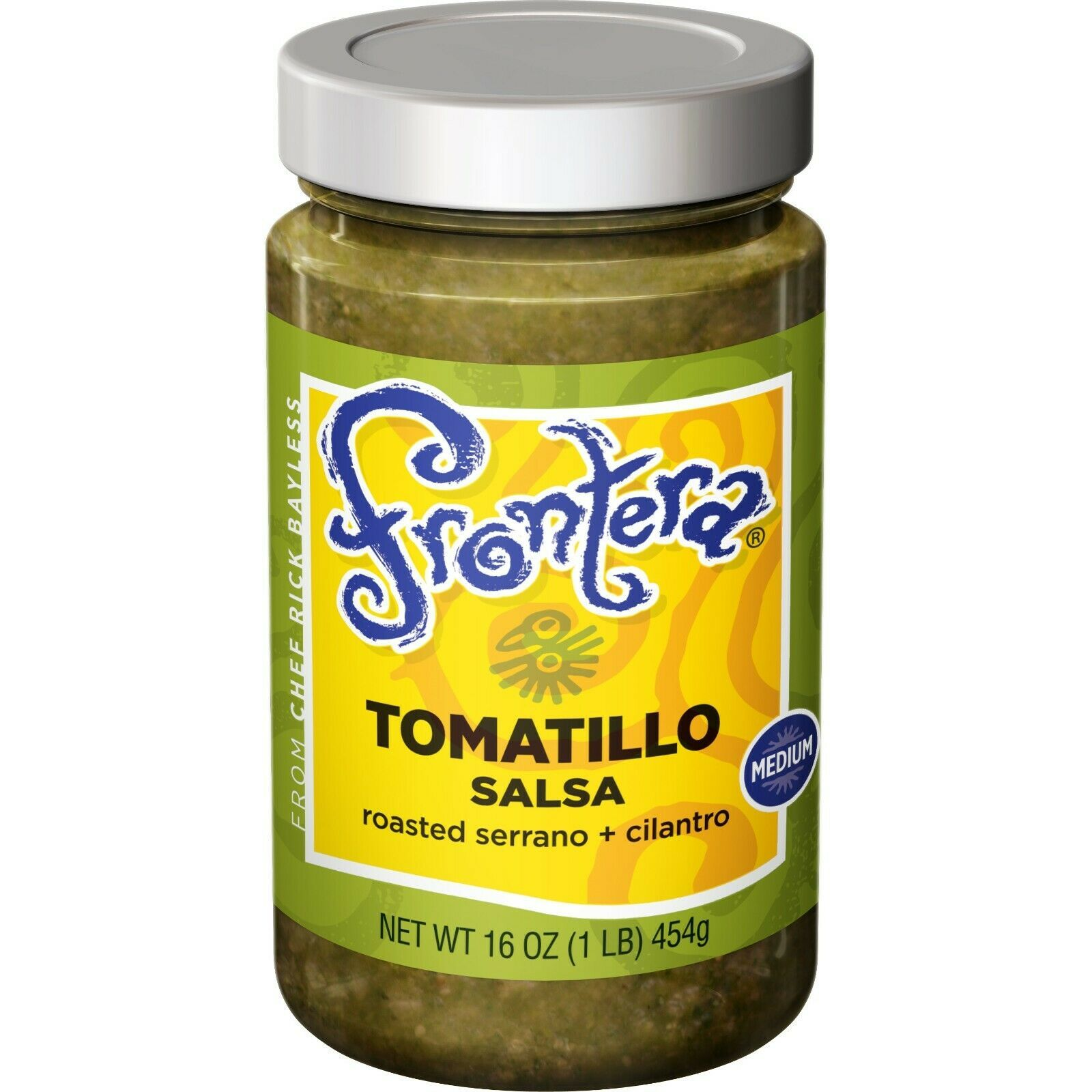 Frontera Tomatillo Salsa (Medium.)-  - Case Of 6 - 16 Oz Glass Jars - $25.73