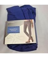Vera Wang Simply Vera Chino Leggings Royal Blue Sz L (12-14) - $21.99
