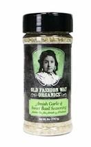 Old Fashion Way Organics Amish Garlic & Sweet Basil Seasoning and Marina... - $12.47