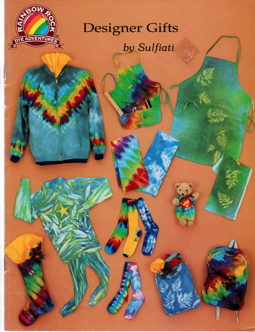 Primary image for Rainbow Rock Dye Adventures Designer Gifts Booklet Craft Book