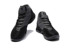 Men's Under Armour Curry 2.5 Black/Black 1274425-006 Size 9 Warriors Dub... - $149.00