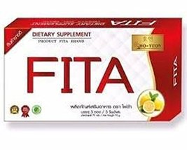 4x Fita Ho Yeon Light Dahon Honey Detox Herbal Extracted fruits vegetabal - $40.18