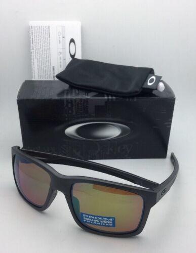 Polarisé Oakley Lunettes de Soleil Mainlink Oo9264-20 Acier Cadre W / Prizm Peu