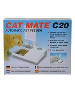 Cat mate automatic pet feeder 2 bowl 48 hour thumbtall