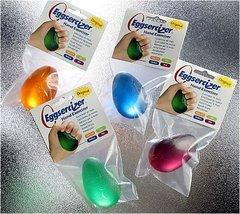 Hand Exercizing Aid, Eggsercizer, Latex Free, Green, Soft - $8.99
