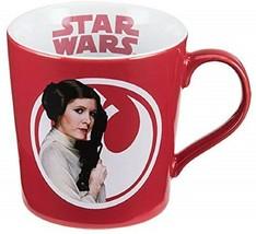 Star Wars Princess Leia Don't Mess with a Princess Coffee Mug Red 12 oz - $17.82