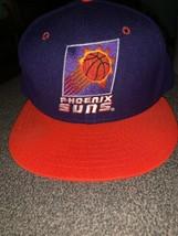 Vintage Phoenix Suns Fitted Hat New Era 5950 Size 7 1/4 100% Wool Cap 90... - $19.99