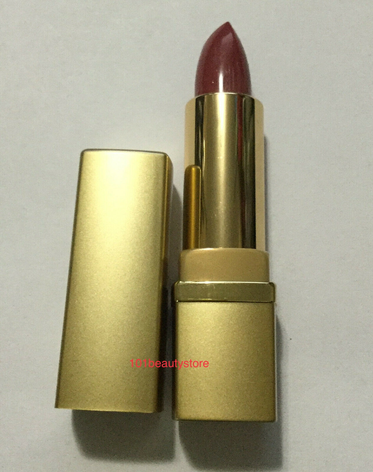 Primary image for ESTEE LAUDER Pure Color Long Lasting Lipstick GOLD SQUARE CASE *NEW.UNBOXED*