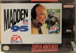 *SEALED* Madden NFL 95 (Super Nintendo Entertainment System, 1994) - $36.82