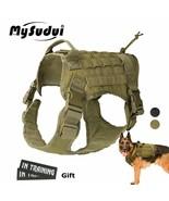 Harness Vest Military Tactical Dog Large Dog Adjustable Pet Dog Vest Har... - $35.62+