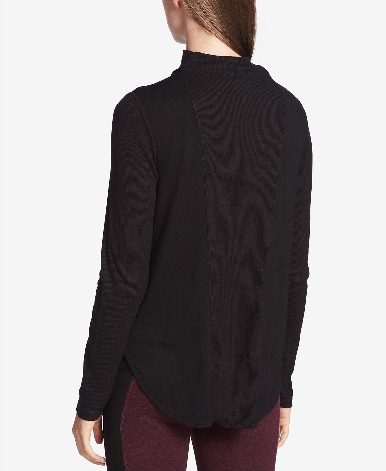 Calvin Klein Performance Mock-Neck Top, Size S, MSRP $59