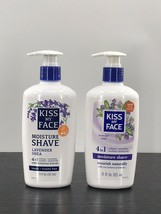 2 Kiss My Face Moisture Shave Fragrance Free-  11 oz. - $25.69