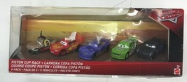 Disney Cars 3 Race for the Piston Cup (5 Pack) Mattel 3+ New but Box dam... - $46.74