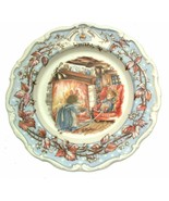 Royal Doulton Brambly Hedge Winter plate Jill Barklem 1982 CP1058 - $50.32