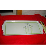 CORELLE SHADOW IRIS TIDBIT SERVING TRAY BRAND NEW IN PACKAGE FREE USA SH... - $18.69