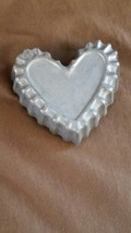Vintage Nordic Ware Replacement Aluminum Timbale- Heart Shaped FREE SHIP... - $6.00