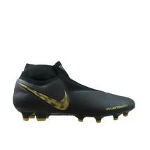 Nike Phantom VSN Elite DF FG Black Gold Soccer Cleats Size 10.5 NEW AO32... - $94.03