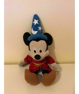 Plush Stuffed Animal Disney Fantasia Mickey Mouse Sorcerer Just Play - $0.98