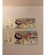 2 -1988 Philadelphia Flyers Ticket Stub vs NJ Devils 10-6-88 Game 1 - $12.95