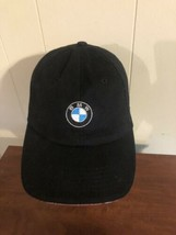 BMW PERFORMANCE DRIVING SCHOOL EMBROIDERED BLACK HAT STRAPBACK - $15.83