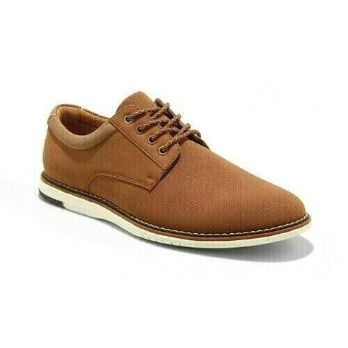 Goodfellow & Co. Edmund Marrón Tostado Informal Oxford Zapatos Vestido US 12 Nwt