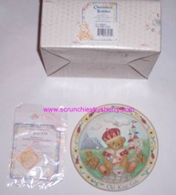Old King Cole Cherished Teddies Collector Plate Enesco Vintage Retired Gift - $14.97