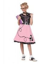 California Costumes 50'S Sweetheart Children Cosplay Girls Kids Costume ... - $30.99