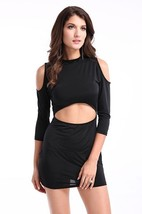 Kaamastra Intimates wear Womens  Enticing Black Mini Dress - $42.00