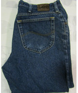 Vintage Lee Regular Fit 38 X 29 Mens Blue Jeans Great Preowned Condition... - $24.99