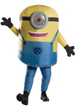 Rubies Inflatable Minion Stuart Adult Mens Standard Halloween Costume 81... - $68.99
