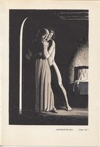 "Rockwell Kent ""...and locked the door.."", The Decameron. Vintage 1949 pr... - $9.00"