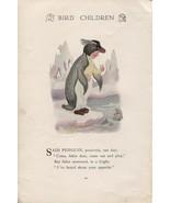 Elizabeth Gordon's Bird Children: Penguin. M.T.Ross 1912 lithograph print - $13.81