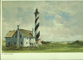 Ray Ellis. Hatteras Lighthouse. North Carolina. Southeast Coast 1983 print - $16.95