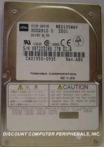 """10% off 2+ Toshiba MK2105MAV HDD2910 2.1GB 2.5"""" IDE Drive Tested Free US... - $48.95"""
