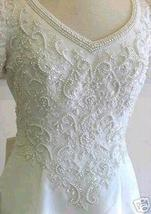 Used FOREVER YOURS Bridal Wedding Gown Size 6  $1799.99 - $749.99
