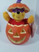 Winnie The Pooh Animated Halloween Display Figure Vintage Disney Damaged... - $29.65