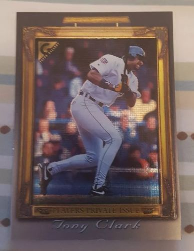 1998 (TIGERS) Topps Gallery Player's Private Issue #88 Tony Clark 046 /250