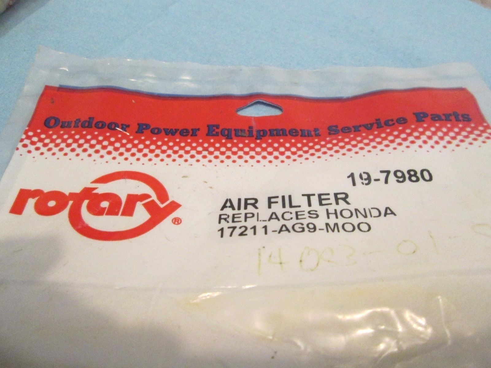 Primary image for 19-7980, Rotary, Air filter, Replaces Honda 17211-AG9-M00, Quantity=2