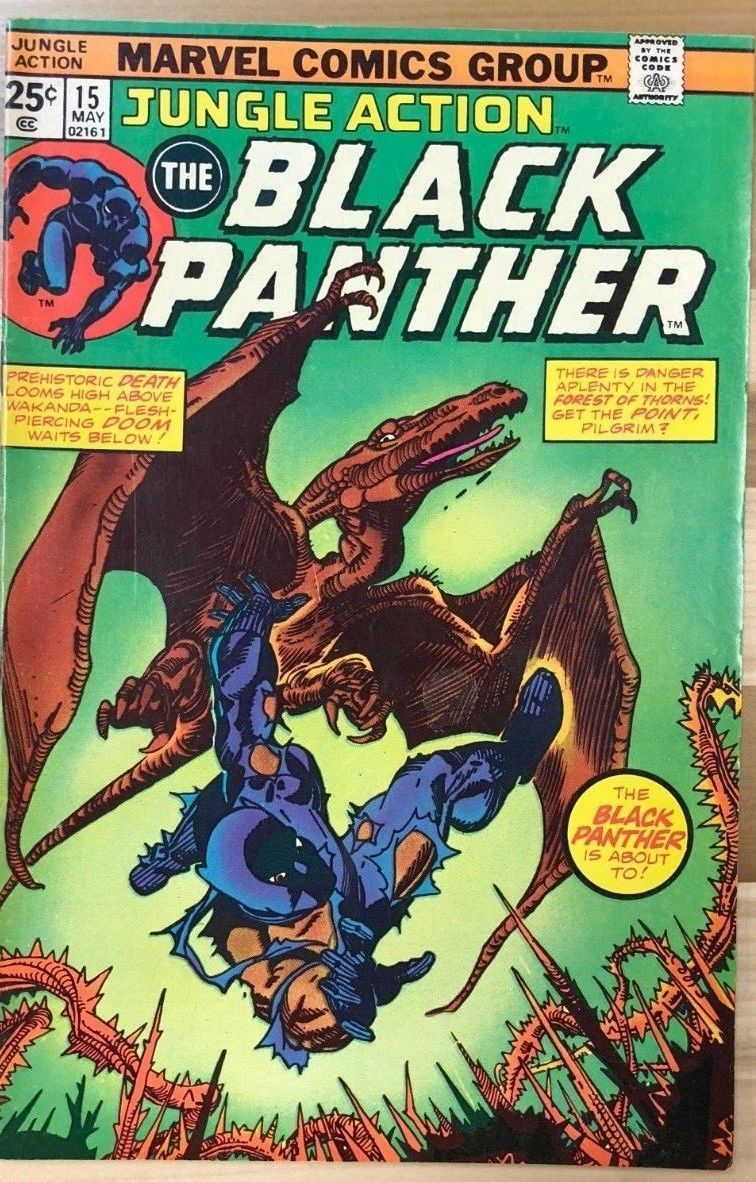 Primary image for JUNGLE ACTION #15 Black Panther (1975) Marvel Comics VG+