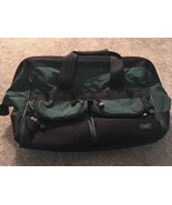 L.L. Bean Green Nylon Rolling Duffle Bag 0AJX9 - $64.99