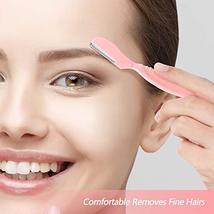 Lurrose Eyebrow Razors Shavers, Facial Hair Trimmer for Women and Men, Multipurp image 4
