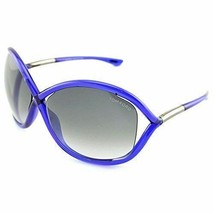 TOM FORD WHITNEY TF0009 90B Ladies Women LARGE  BUTTERFLY Sunglasses BLU... - $108.89